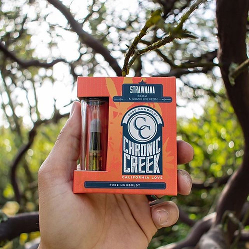 Chronic Creek Cartridge Half Gram Strawnana (84.40% THC)
