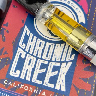 Chronic Creek Cartridge  Half Gram Live Resin Forbidden Fruit (83.93% THC)