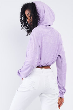 Lily Cropped Hoodie