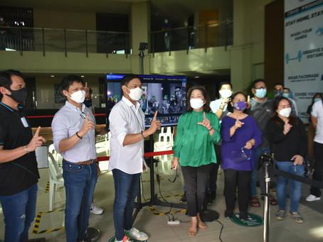 USEC Dave Almarinez donates Intelligent Temperature Screening