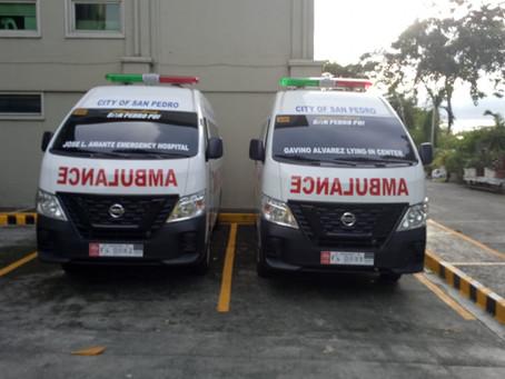 Bagong Ambulansiya para sa JLAEH at GALIC