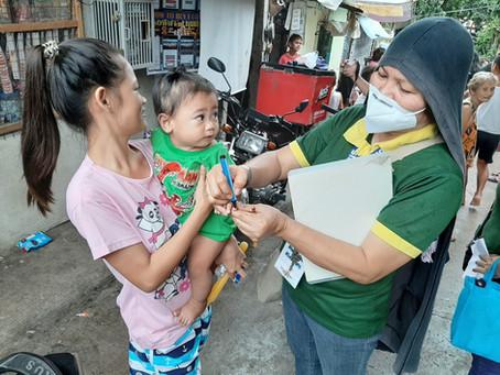 Sabayang Patak Kontra Polio Patuloy na Isinasagawa