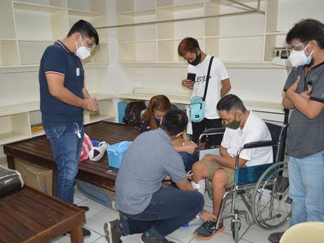 San Pedro Rehabilitation Clinic, Pinalakas