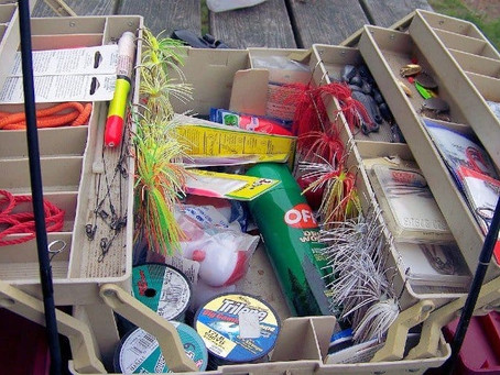 Important Things that are needed on your Fishing Tackle Box
