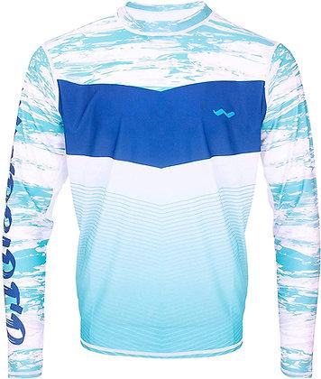 WindRider Long Sleeve Fishing Shirts for Men UPF 50+ Sun Protectio