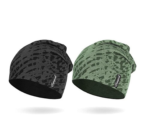 """EMPISPORTS 10"""" Multifunctional Lightweight Beanies Hats-Pack of 2"""