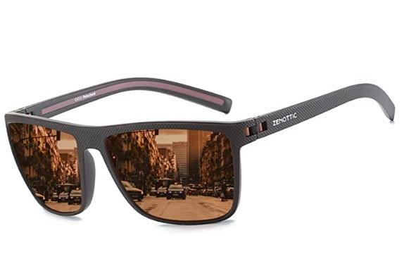 ZENOTTIC Polarized Sunglasses for Men Lightweight TR90 Frame UV400 ProtectioN