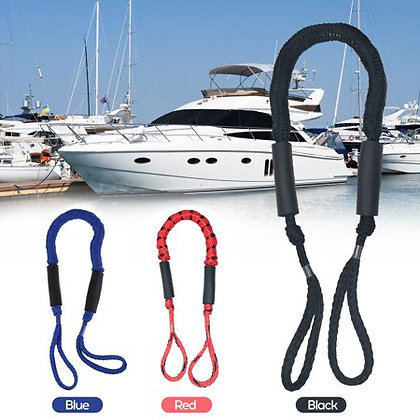 4 Feet Bungee Shock Cords Bungee Docking Rope Mooring Rope for Boat,PWC,Jet ski,