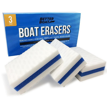 Boat Scuff Erasers-Pack of 3