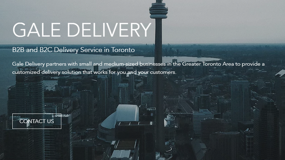 Gale Delivery Launches New Website And Online Store