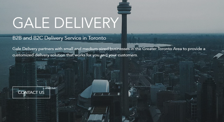 Delivery Company for Business Toronto