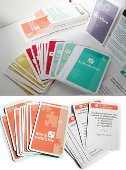 création d'un jeu de cartes illustré