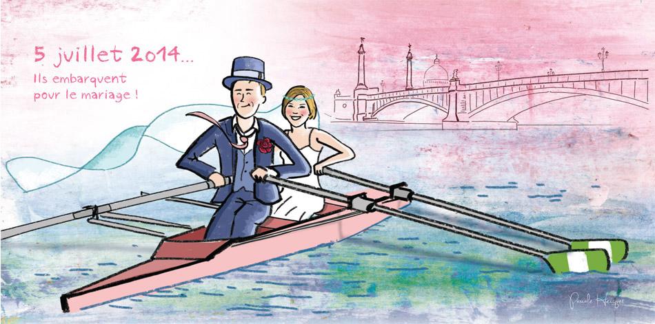 Annonce de mariage