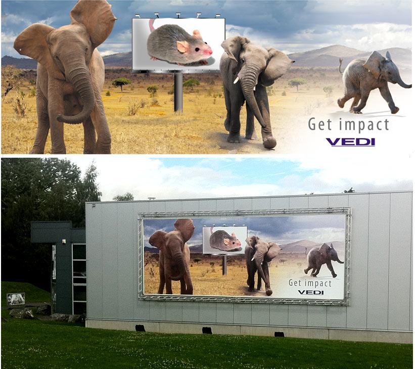 Création d'affiches