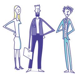 illustration corporate