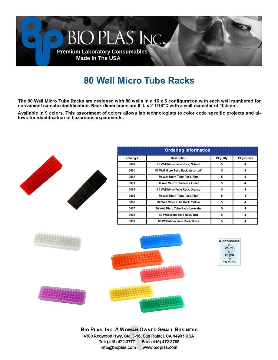Bio Plas 80 Well Micro Tube Racks 2020.j