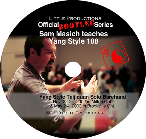 LP Official Bootleg Series vol.1 Traditional Yang Style Taijiquan 108
