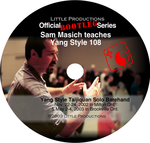 LP Official Bootleg Series vol 1 Traditional Yang Style Taijiquan 108 DVD