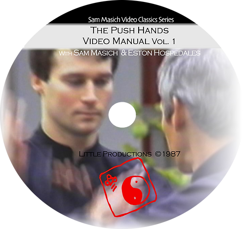 Push Hands Video Manual vol. 1 Four Hands DVD