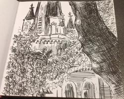 Madrid (ballpoint pen)