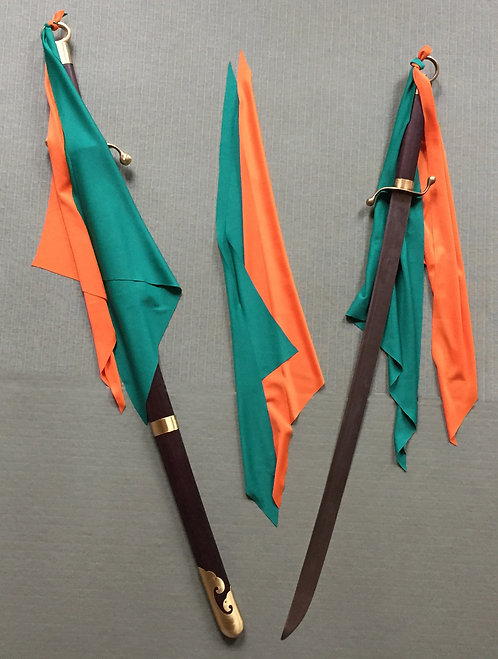 Masich Internal Arts Sabre Flags