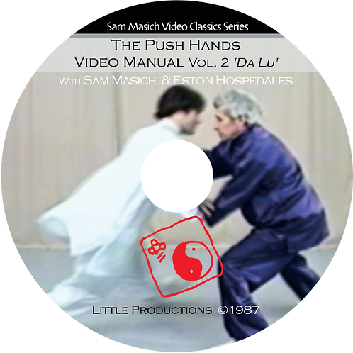 Push Hands Video Manual vol. 2 Dalü  DVD