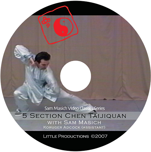 5 Section Taijiquan Solo Bare-hand Form (Chen-style) DVD