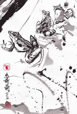 Froggies (Chinese brush)