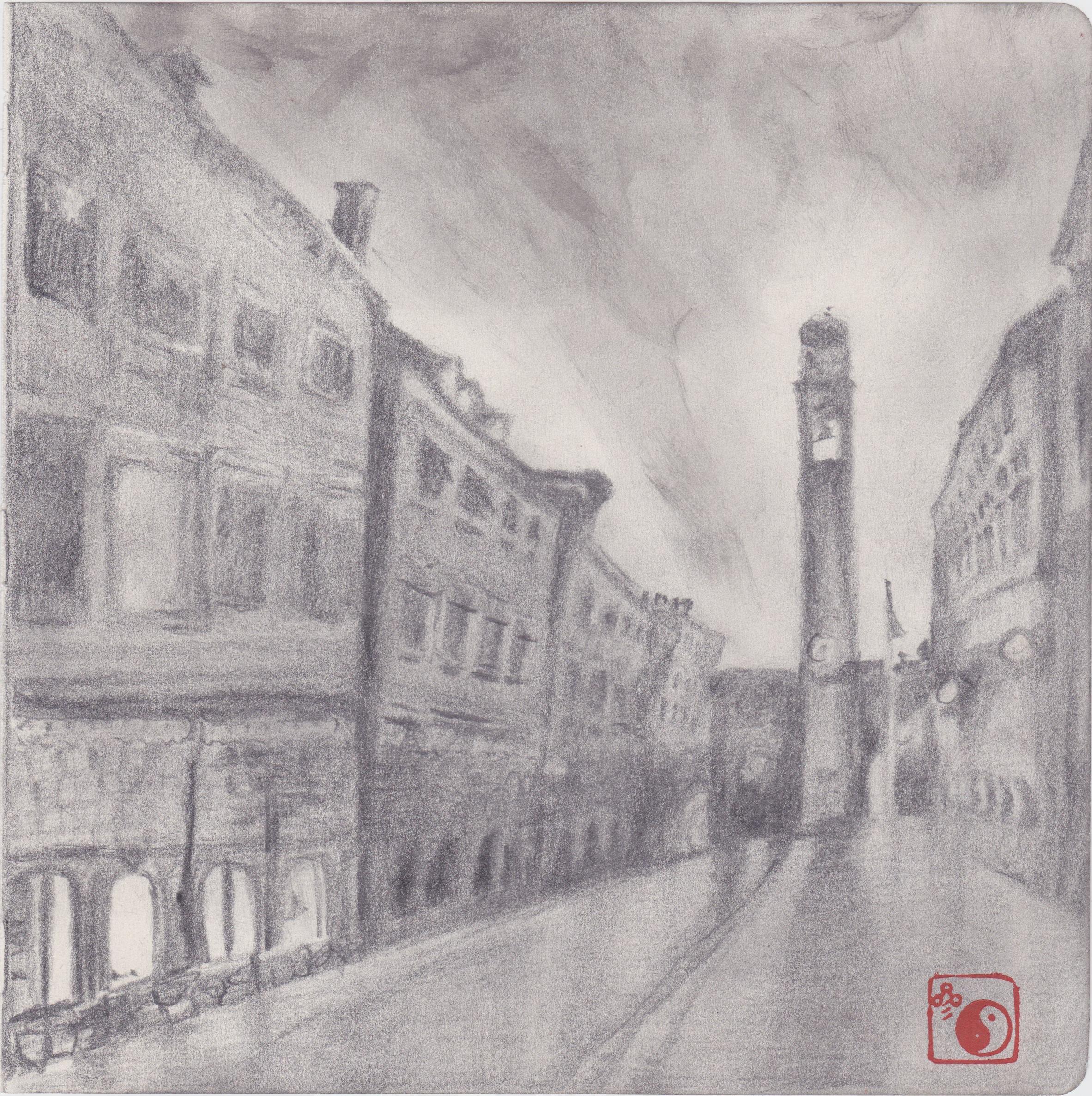 Dubrovnik (pencil)