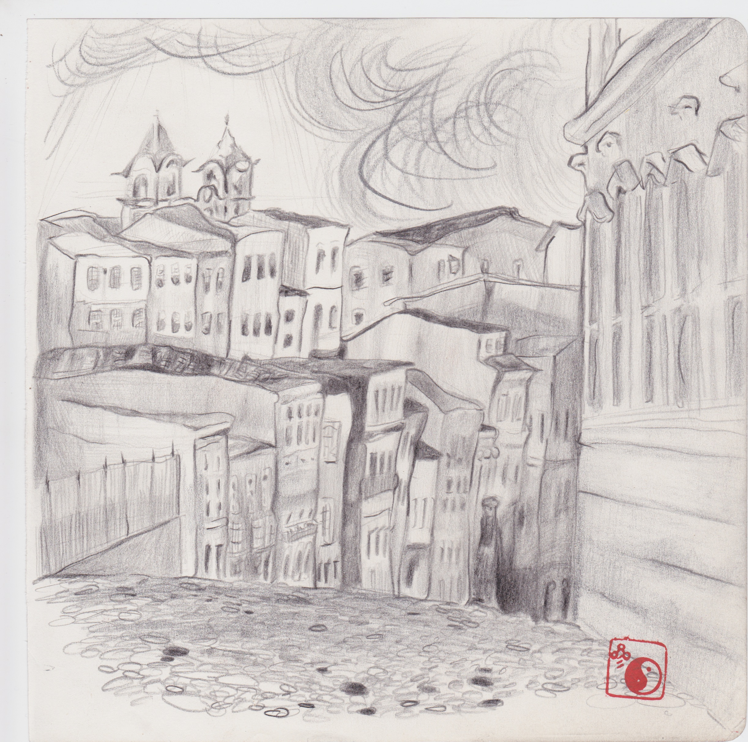 Old Europe (pencil)
