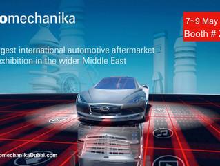 Automechanika Dubai 7-9 May, 2017