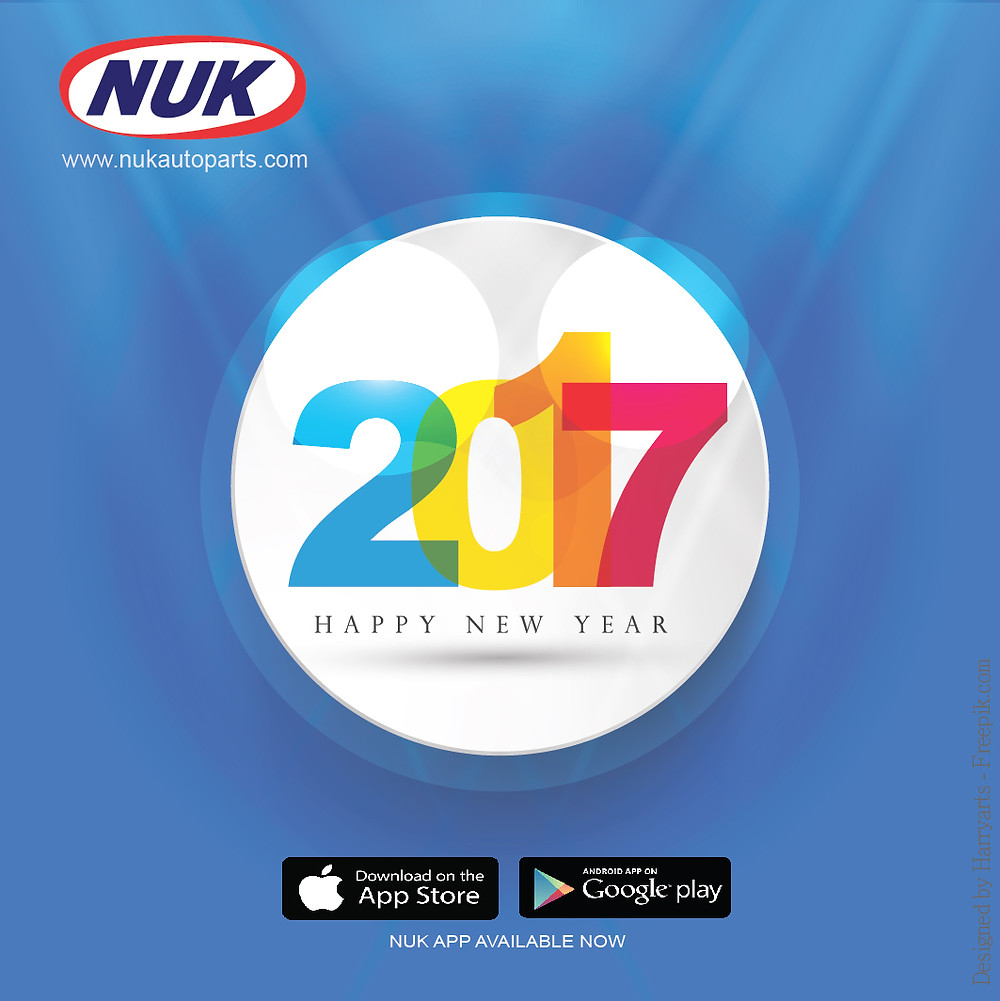NEW YEAR 2017 GREETINGS CARD