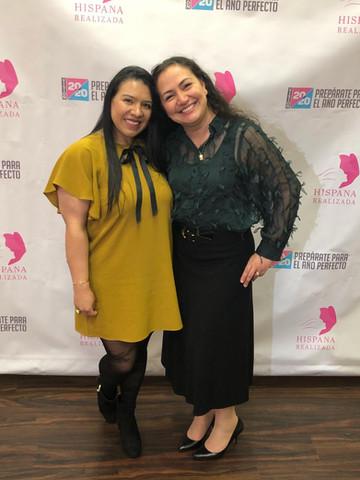My friend Paloma and me/ Hispana Realizada 2020