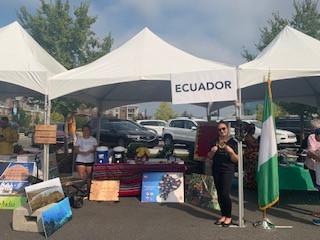 Ecuadorian Booth/ Summer 2019