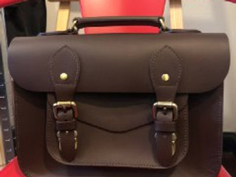 Emma Satchel Dark Brown Sample Sale (1)