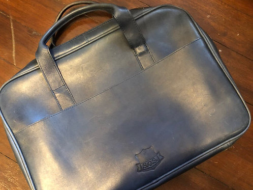 "Franco Laptop Bag 15"" Tamponato Blue Sample Sale"