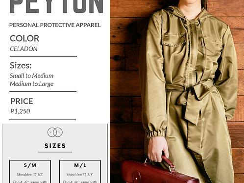 Niu.Norm Peyton PPE Coat Celadon (unisex)