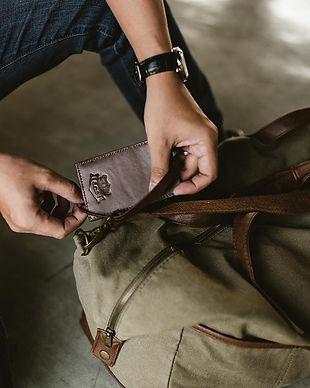 Dark Brown Luggage Tag.jpg