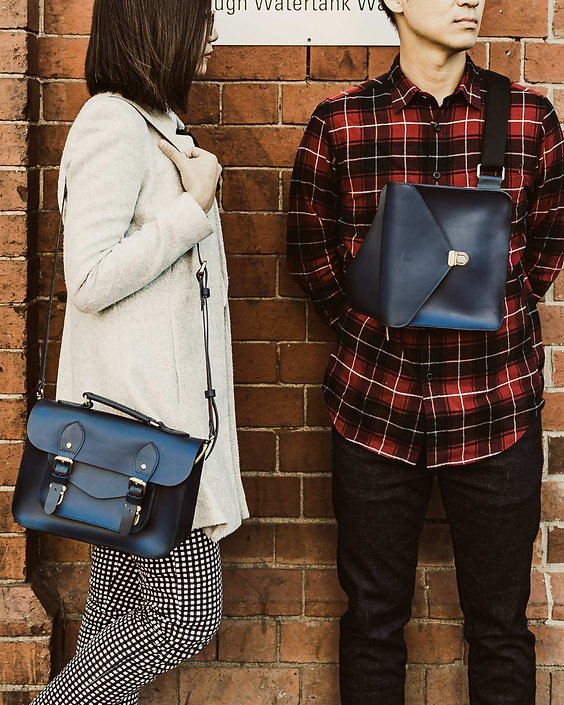 the school of satchel leather bags work