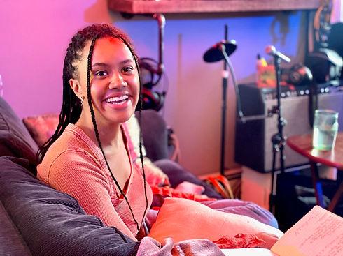 Maya Nicole smiling at the camera.JPG