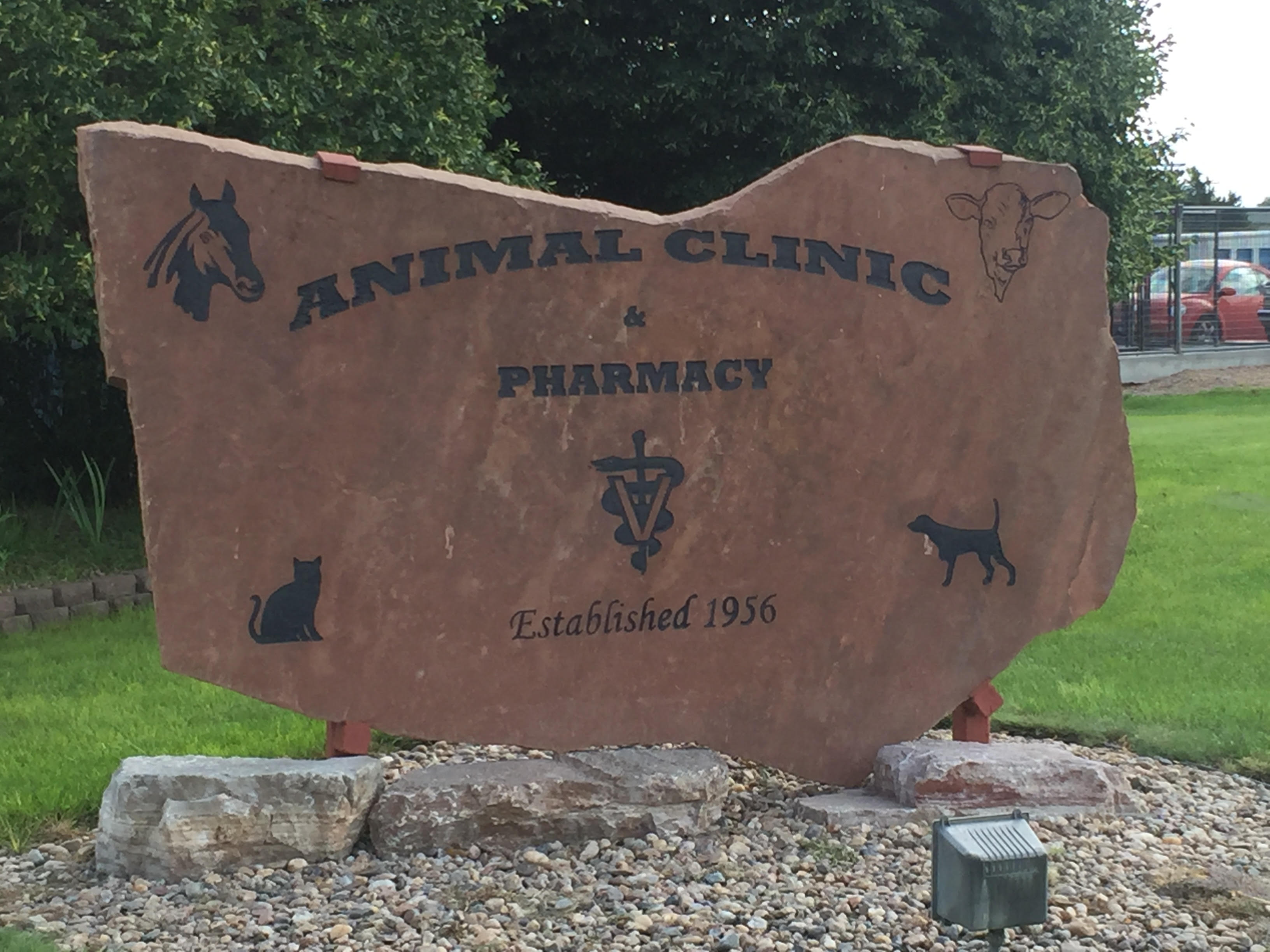 Animal Clinic Monument Sign