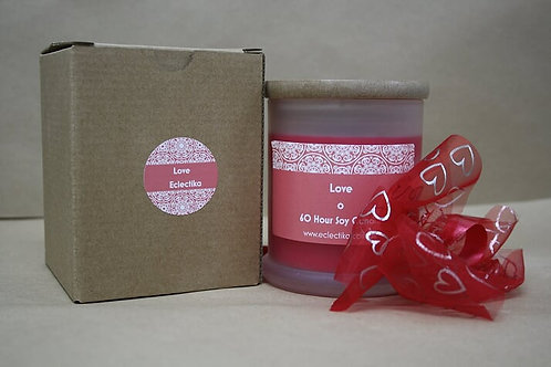 Love Red Soy Candle