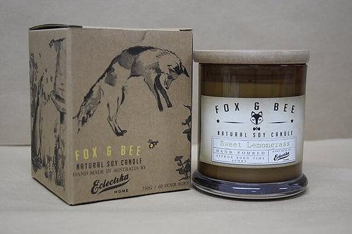 Fox and Bee Sweet Lemongrass