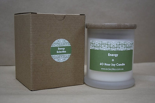 EssentialLY  Energy Soy Candle