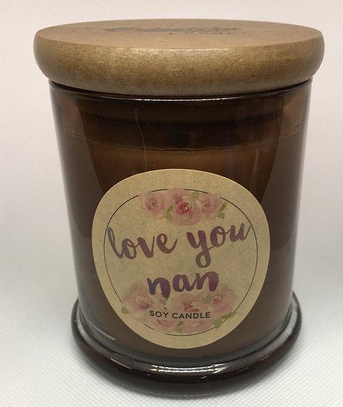 Love You Nan soy candle