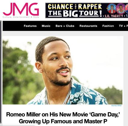 JMG: Romeo Miller on His New Movie