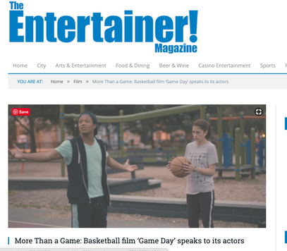 Entertainer! Magazine: More than a Game