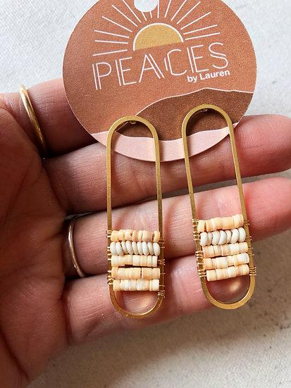 Desert island earrings