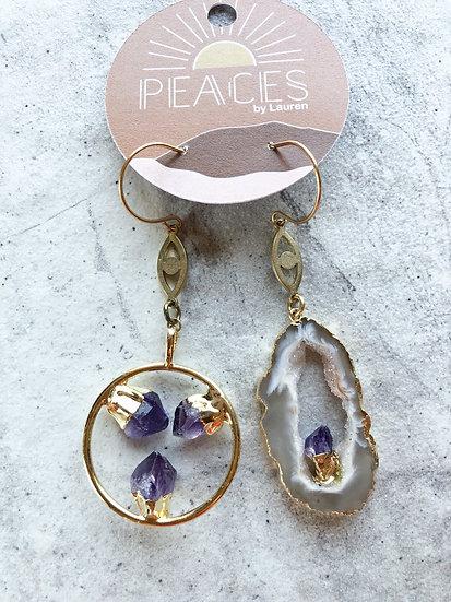 Undiscovered magic earrings
