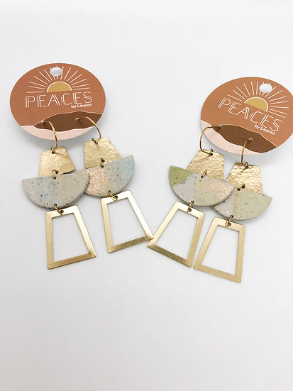 Above the fray earrings